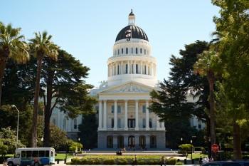 """Kapitol in Sacramento, """"Landeshauptstadt"""" von Kalifornien"""