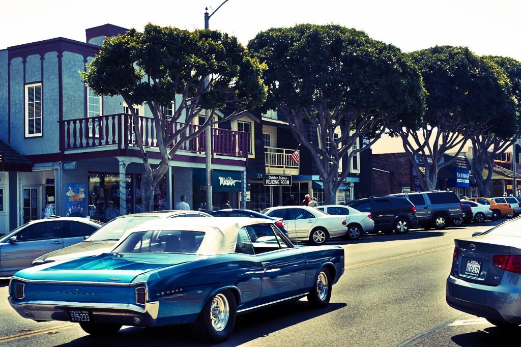 Pontiac on Main Street